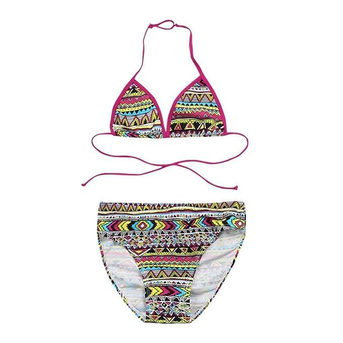 Costumi Da Bagno Personalizzati.Costume Da Bagno Byste Bambina Bikini Set Ragazze Spiaggia