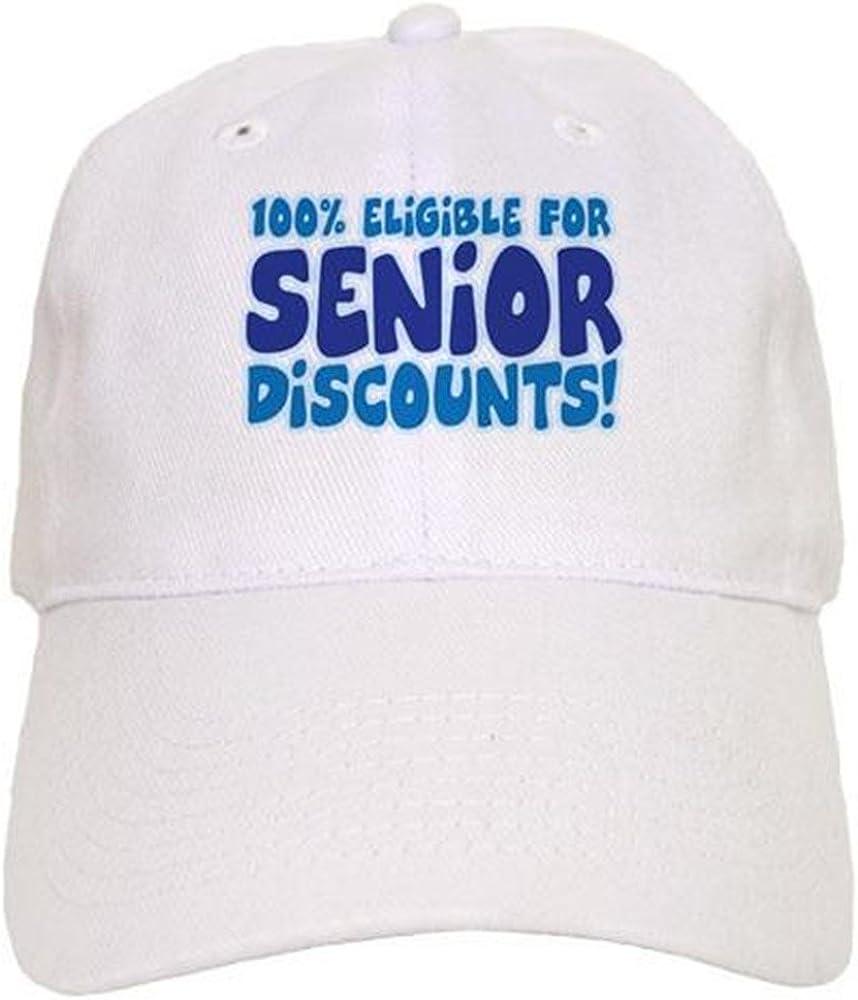 CafePress Eligible for Senior Cap Baseball Cap