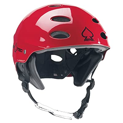 Protec Ace Wake Helmet Gloss Red S : Water Helmets : Sports & Outdoors