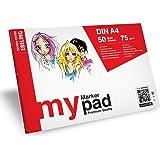 ZEICHEN-CENTER EBELING my Markerpad Markerblock A4 Manga Girls 75g/qm - 50 Blatt