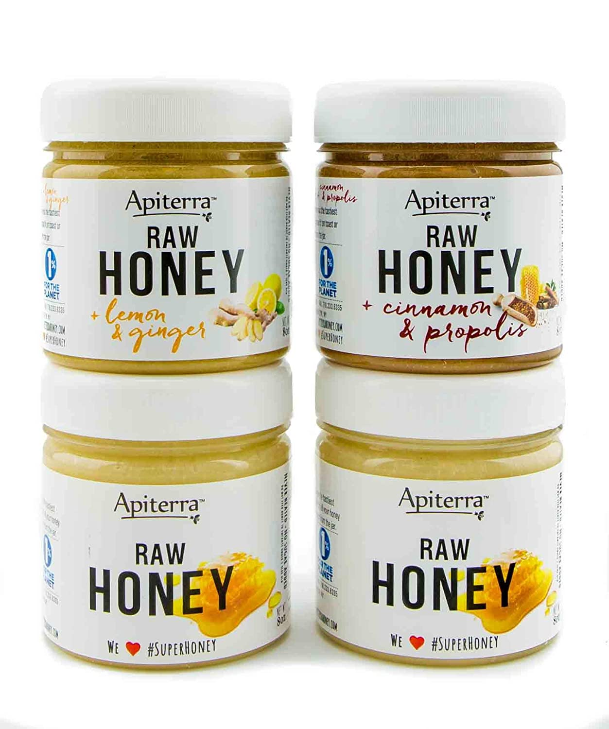 HEALTHY BREAKFAST Honey Gift set - Honey Spread, Jam & Jelly Gift Set - 32 Ounce