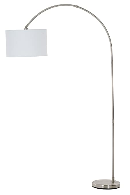 catalina lighting 20642 000 susan arc floor lamp with white linen