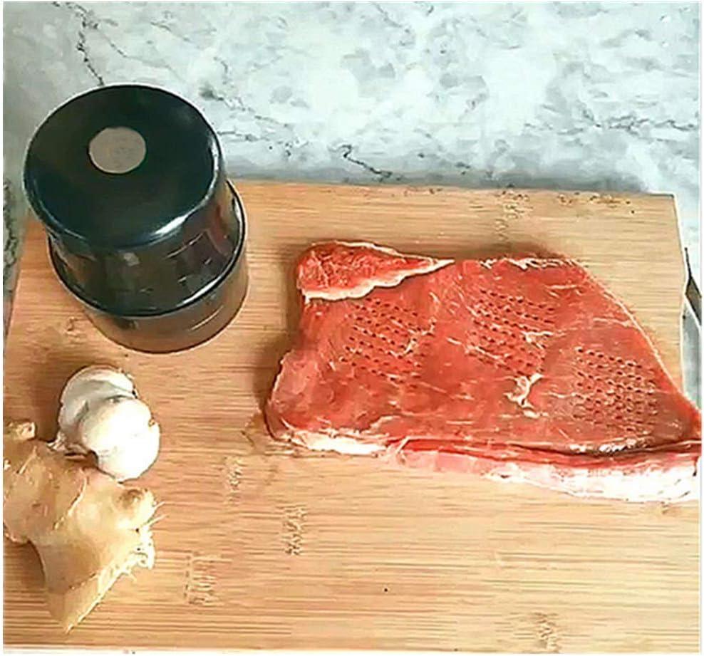 noir Aiguille attendrisseur de viande 56 lames en acier inoxydable brosse de nettoyage attendrisseur daiguille steak poulet et poisson ustensiles de cuisine durables pour la cuisson de la cuisine