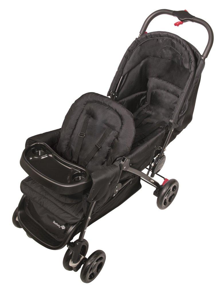 color negro Modelo antiguo Full black Safety 1st Duodeal 11487640 Silla de paseo gemelars