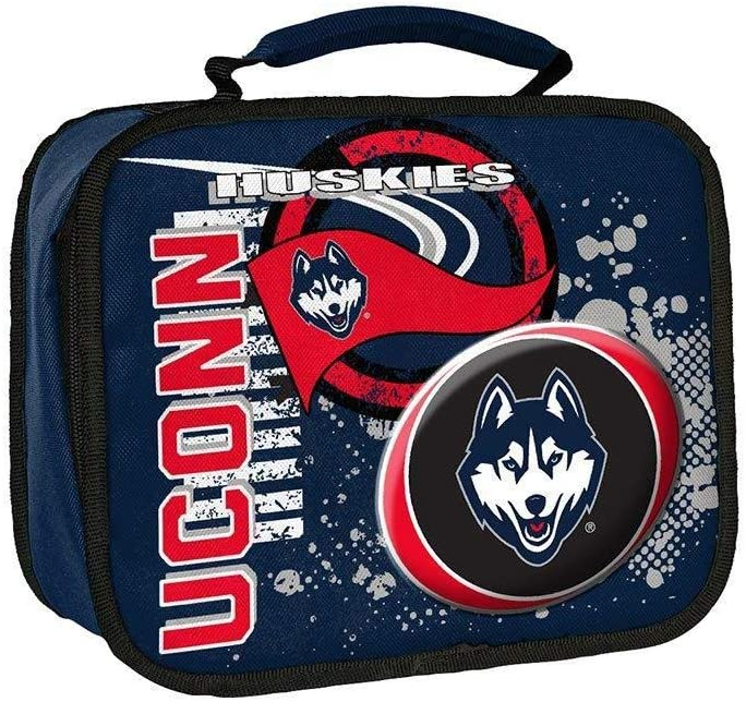 10.5 x 8.5 x 4 Multi Color Officially Licensed NCAA Accelerator Lunch Kit Bag