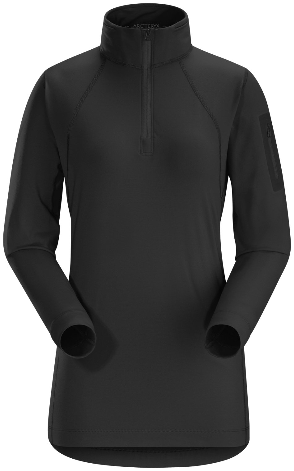 Arc'teryx Rho LT Zip - Women's Black Small