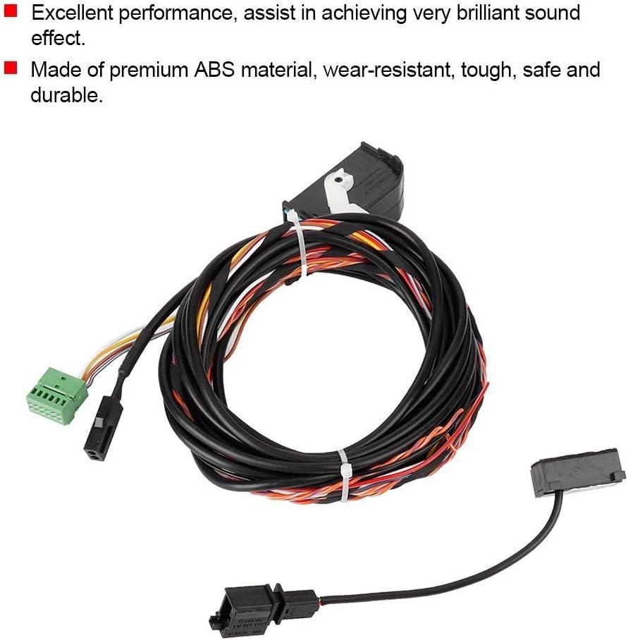 Micr/ófono Kit del Micr/ófono del Arn/és de Bluetooth Adecuado para Rcd510 Rns510 8X0035447A Cable del Arn/és de Cableado de Bluetooth