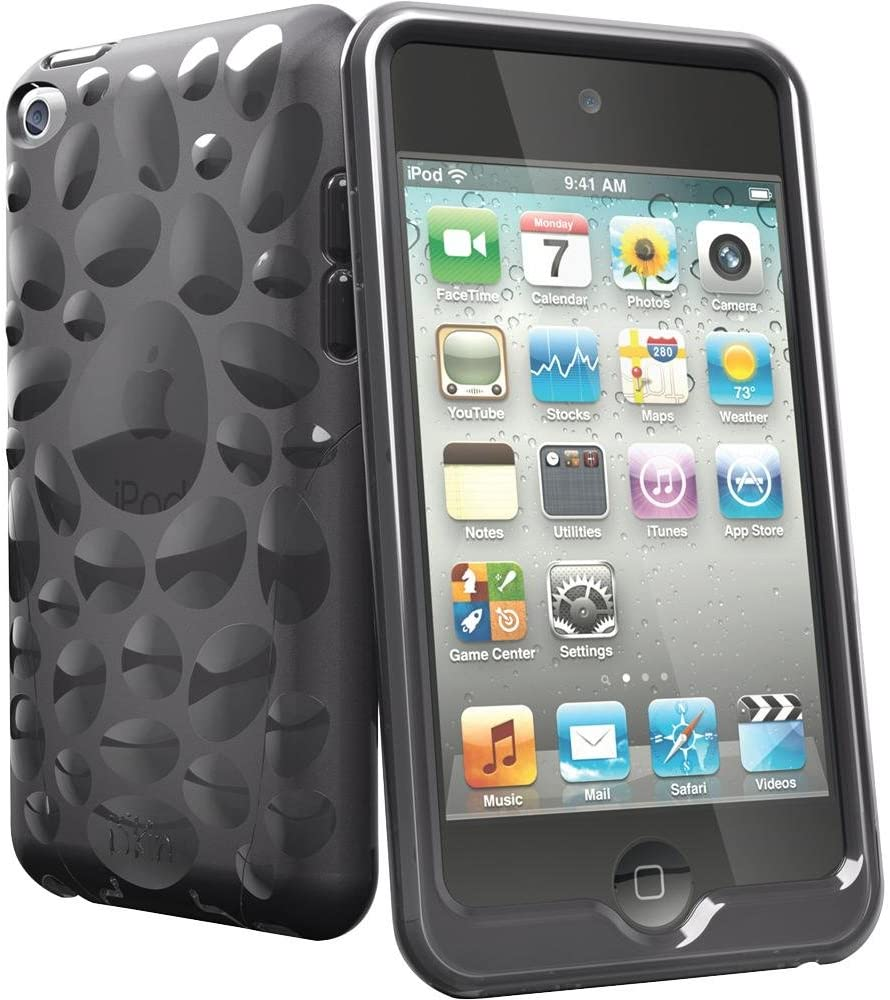 iSkin Pebble Carbon iPod Touch 4G
