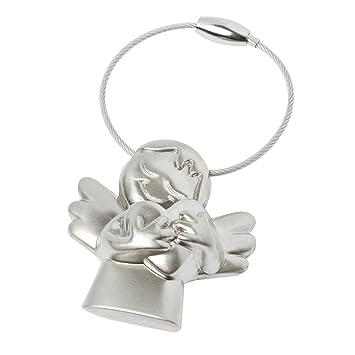 Brubaker - Llavero con ángel de la guarda en una bonita caja de regalo