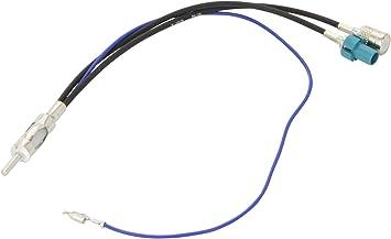 Autokit 25ADVW12 Adaptador Antena Fakra Macho Universal - ISO Hembra - DIN Macho