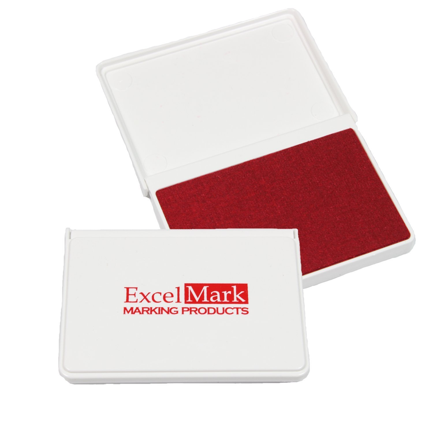 ExcelMark Ink Pad for Rubber Stamps 2-1/8 by 3-1/4 (Black) Discount Rubber Stamps STAMP PAD - 0 - BLACK