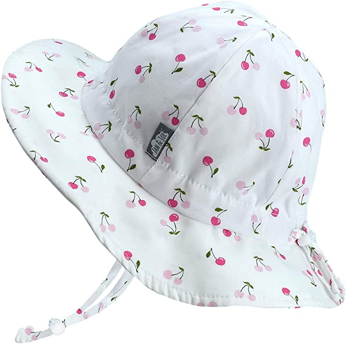 0db9ca17f09 Amazon.com  JAN   JUL Baby Girl Cotton Sun Hat 50 UPF