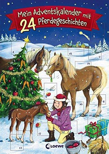 Mein Adventskalender mit 24 Pferdegeschichten Taschenbuch – 18. September 2017 Loewe 3785587597 Jahreszeiten: Winter Weihnachten