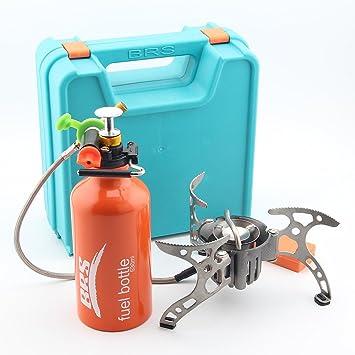 Brs-8 a Multi Fuel extérieur Réchaud à gaz Poêle à pétrole Split ...
