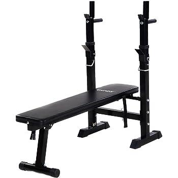 Amazon Com Goplus Olympic Folding Weight Bench Incline