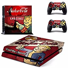 Fallout PS4 Cover Protection Decal Skin Sticker Cover For Playstation 4 Console + Controller Decal # 2 [video game]