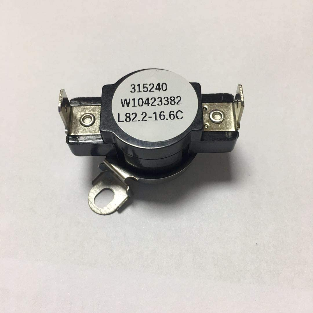 W10423382 Dryer High Limit Thermostat Fits Whirlpool
