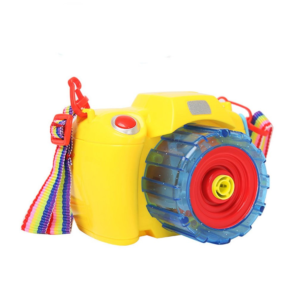 Creative Camera Design Electric Bubble Gun with Music Perfect Gift for Kids by RONSHIN (Image #1)