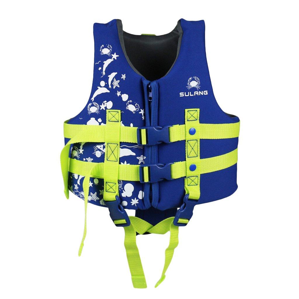 Kids Swim Vest Jacket Float Suit Swimming AIDS Buoyancy Swimwear Learn to Swim by Hony