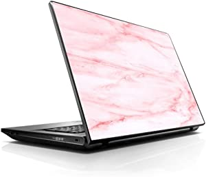 "15 15.6 inch Laptop Notebook Skin Vinyl Sticker Cover Decal Fits 13.3"" 14"" 15.6"" 16"" HP Lenovo Apple Mac Dell Compaq Asus Acer/Rose Pink Marble Pattern"