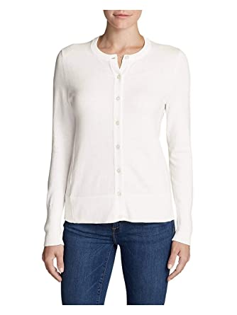 36899c47ea7f36 Eddie Bauer Women's Christine Cardigan Sweater - Solid at Amazon Women's  Clothing store:
