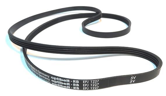 Optibelt-RB - Correa de lavadora EPJ 1227: Amazon.es: Hogar