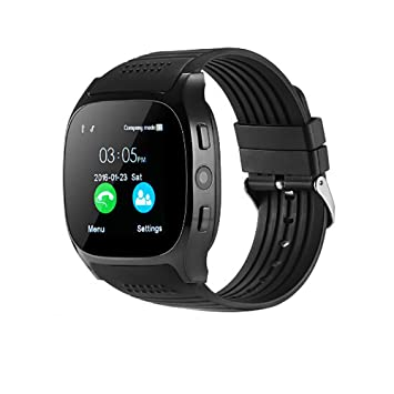 VECDY Smartwatch, Nuevo Reloj T8 BT3.0 con Soporte para SIM y ...