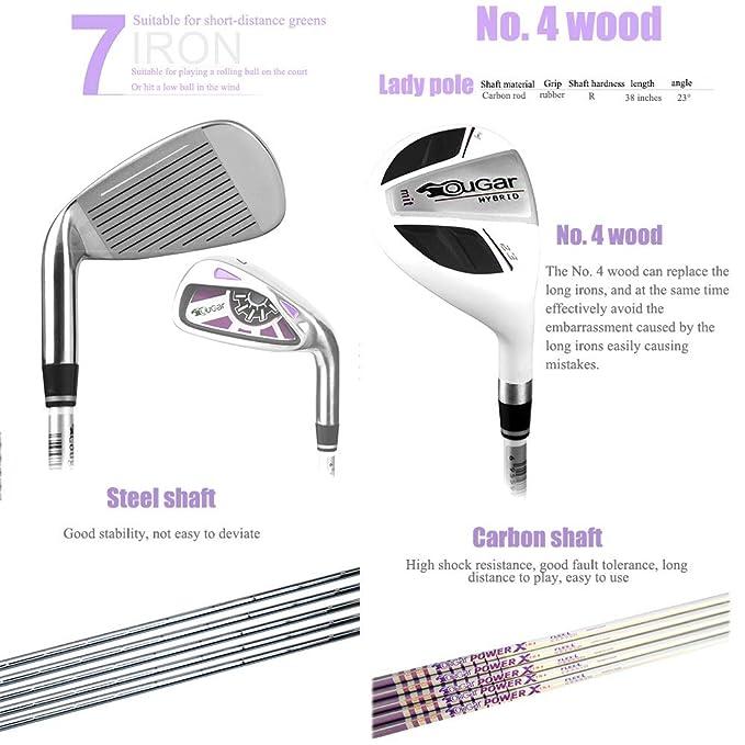 GAOERFU Juego de Golf para Damas, Club de Damas, Serie Gar ...