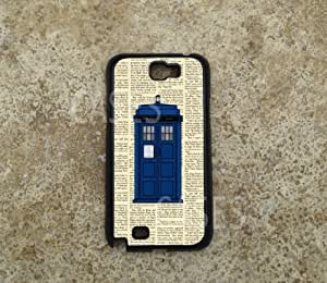 Galaxy Note 2 Case Cover, Tardis Doctor Who Coolest Vintage Unique Cases for ...