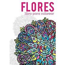 Libro para colorear: Flores