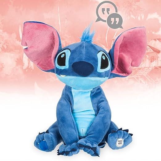 Amazon.com: Disney Animators Collection Interactive Stitch Plush - 11: Toys & Games