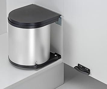 Wesco 010612-11 Einbau Abfallsammler rund Silber Abfallsammelsystem ...