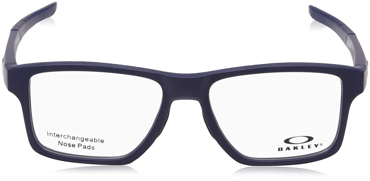 a636b46945e Oakley RX Eyewear - Chamfer Squared (52) - Universe Blue Frame Only at  Amazon Men s Clothing store