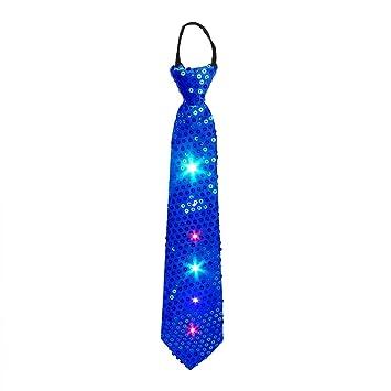 Party la corbata, DAXIN llevó el lazo del cequi con las luces ...