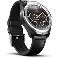 Ticwatch Pro Bluetooth Smart Watch, Layered Display, NFC Payment, Google Assistant, Android Wear, Compatible with iOS and Android (Liquid Metal Silver)