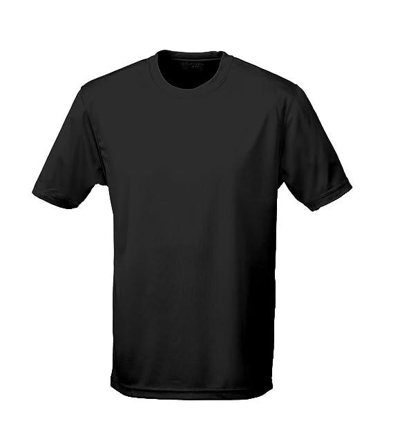 Just Cool - Performance T-Shirt, atmungsaktiv 3XL,Schwarz