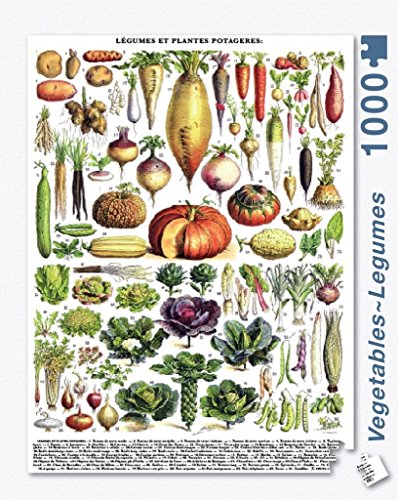 New York Puzzle Company - Vegetables ~ Légumes - 1000 Piece Jigsaw Puzzle