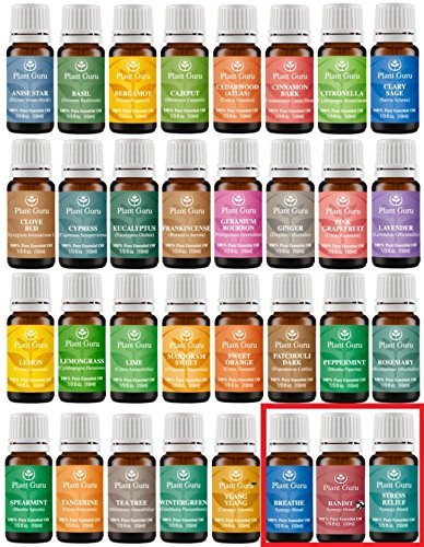 Ultimate Essential Oil Variety Set Kit - 32 Pack - 100% Pure Therapeutic Grade 10 ml. (Young Oils Starter Kit compare prices)