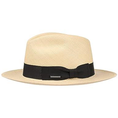 Stetson Cappello Panama Valmora Fedora Estivo da Sole M (56-57 cm) - Natura   Amazon.it  Abbigliamento cf074169a92f
