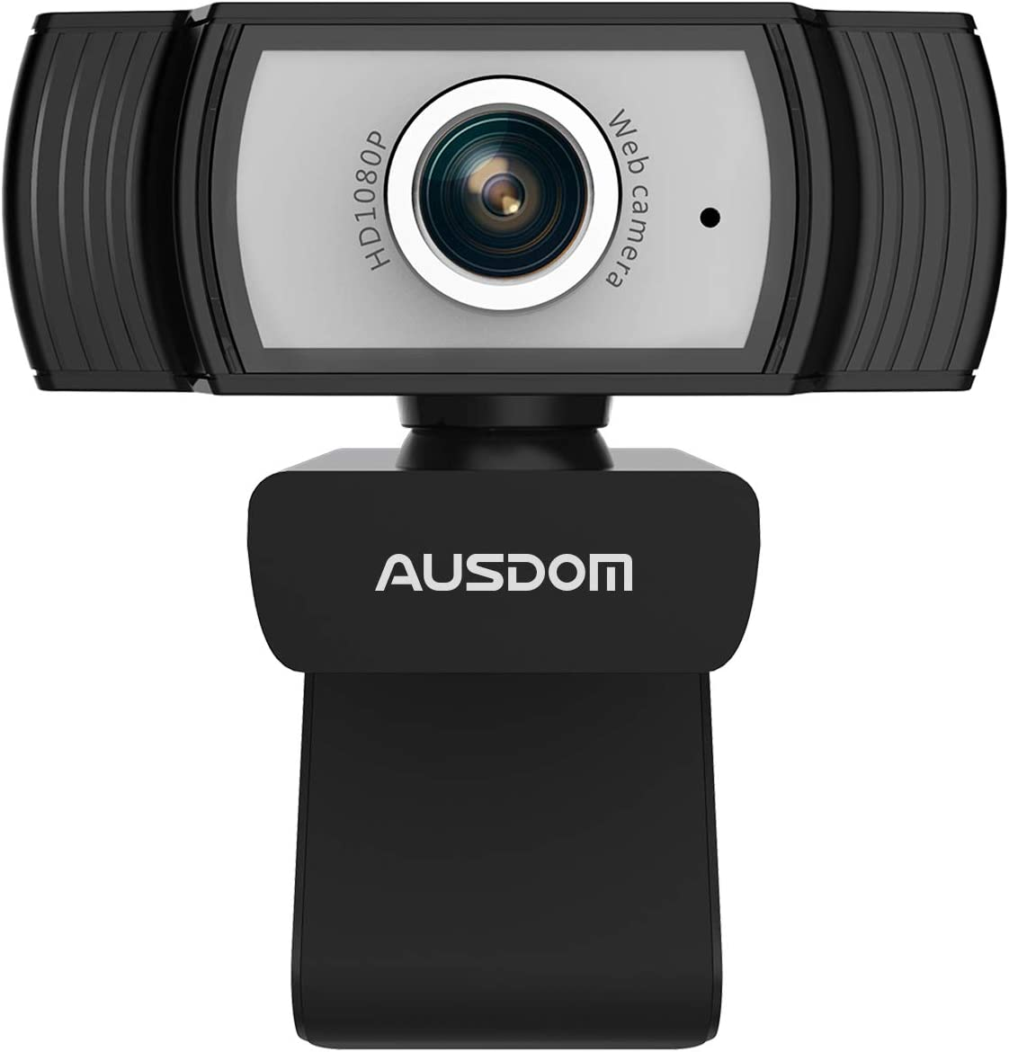 AUSDOM AW33 1080P Full HD Webcam with Built-in Noise Reduction Microphone Stream USB Web Camera for Zoom Meeting, Video Conferencing, Online Work, Home, Office,YouTube, Skype, and Streaming