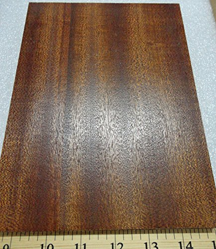 Ribbon Sapele Mahogany prefinished 3/4