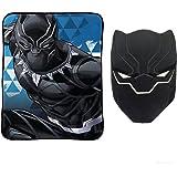 Marvel Avengers Black Panther Nogginz Pillow and Blanket Kids Bedding Set