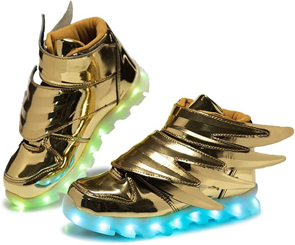 Boys Girls Light Up Shoes with Led Lights Flashing Sneakers for Kids Toddlers
