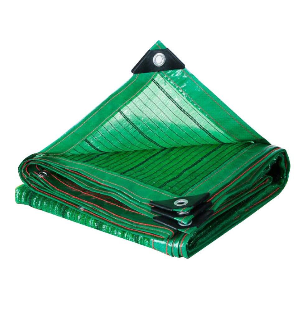 AOHMG Panno ombreggiante UV Resistant, 50 ombreggiante del% Rete Isolante Patio Lawn Sun Panno Parasole, per Copertura vegetale,13.2x16.5ft 4x5m
