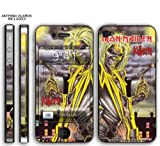 New Apple iPhone 4 Designer Skin with ANTENNA GUARDS- Iron Maiden - Killers