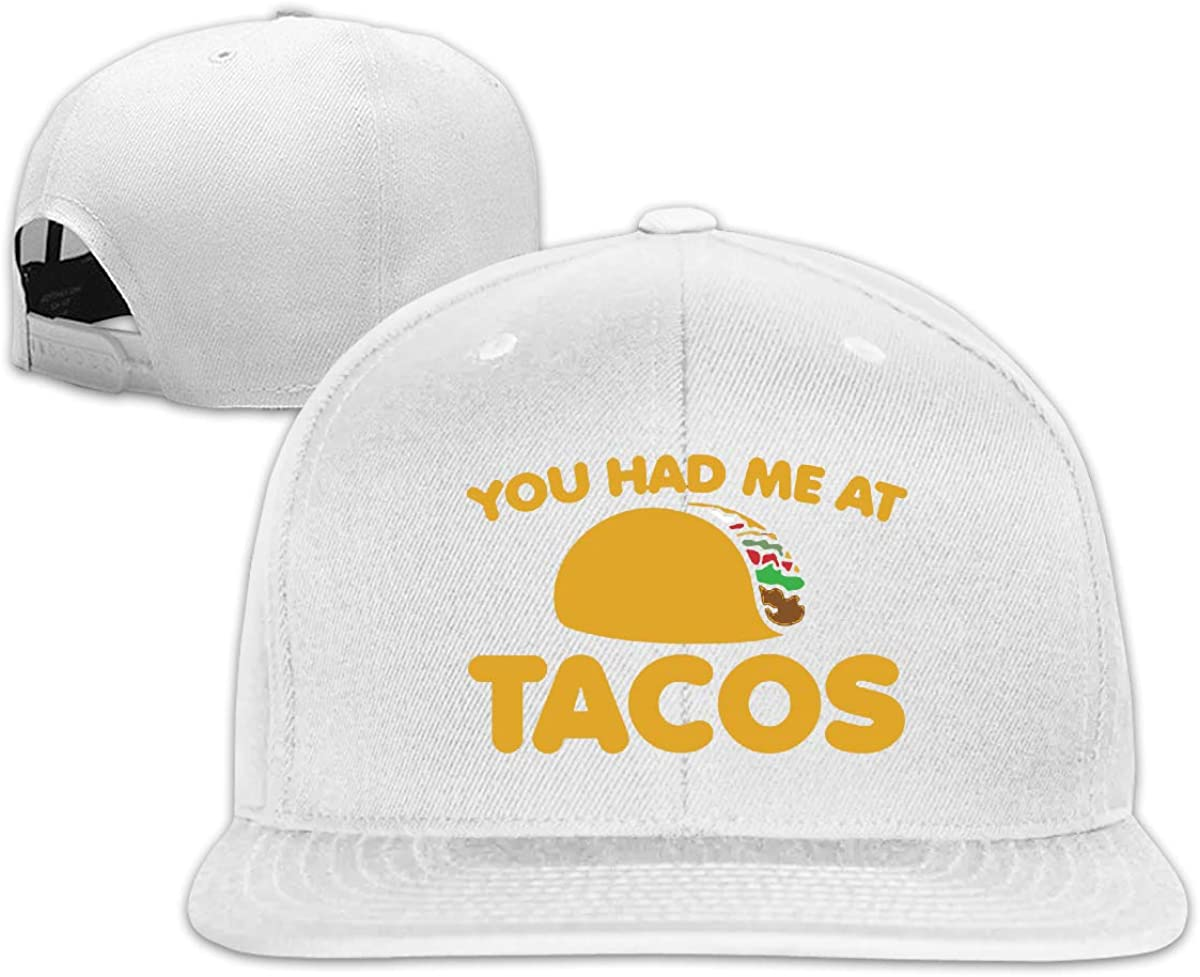 You Had Me at Tacos Unisex Adult Hats Classic Baseball Caps Sports Hat Peaked Cap