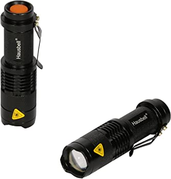 Hausbell 2-Piece 7W Mini LED Flashlight