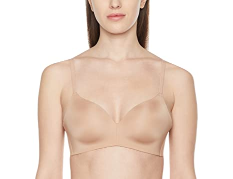 df321f26b78 Amazon.com  Madeline Kelly Women s Micro Lightly Lined Wireless Bra   Clothing