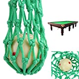 VT BigHome 6 pcs/lot Green Billiard Pocket Pool Snooker Table Nylon Mesh Net Bags Club Kit Professional Snooker Accessories Wholesale