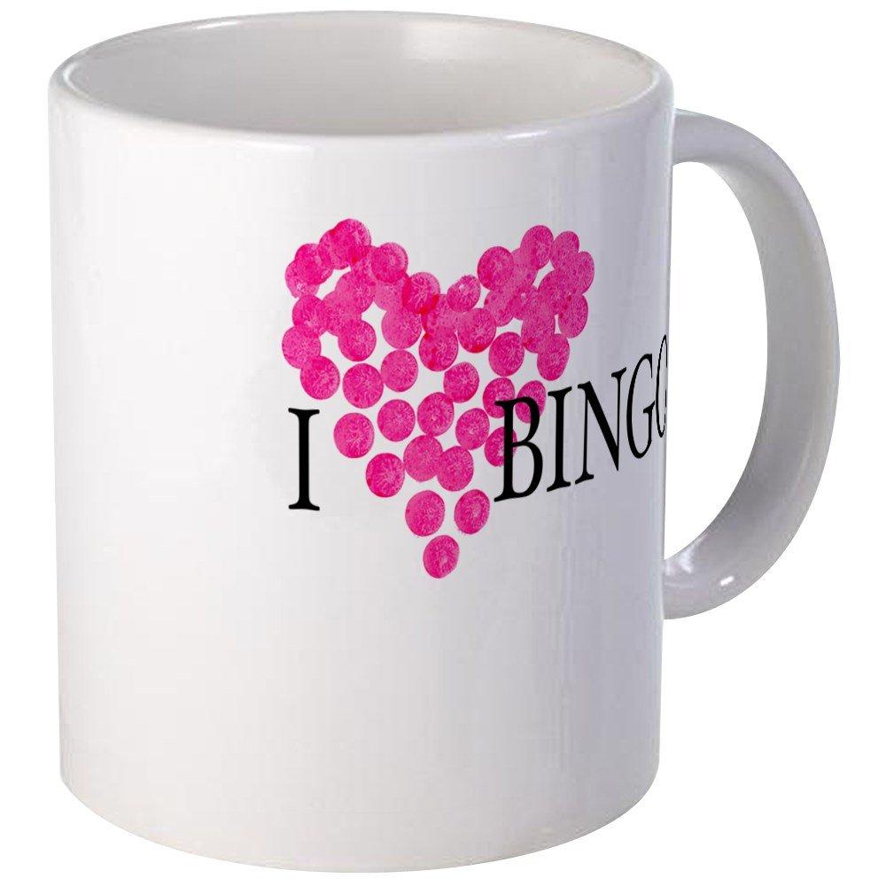 CafePress - I Love Bingo Mug - Unique Coffee Mug, Coffee Cup